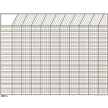 Creative Teaching Press, Large Horizontal Incentive Chart, White