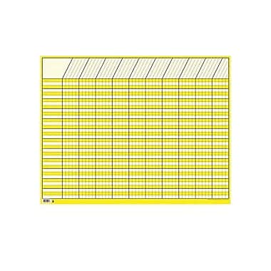 Creative Teaching Press, Large Horizontal Incentive Chart, Yellow