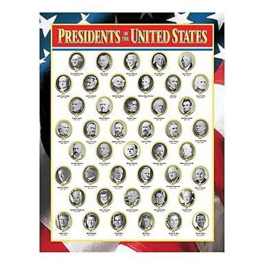 Creative Teaching Press™ Presidents of The United States Chart