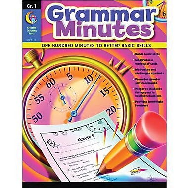 Creative Teaching Press Grammar Minutes Book, Grades 1st