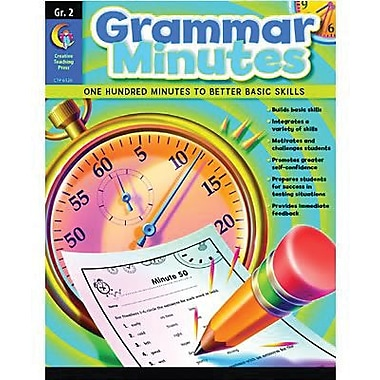 Creative Teaching Press Grammar Minutes Book, Grades 2nd