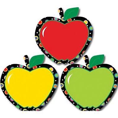 Creative Teaching Press - Décorations stylisées Poppin' Patterns de 6 po, pommes, 144/paquet (CTP6238)