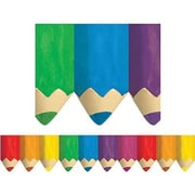 Creative Teaching Press™ preschool - 12th Grades Bulletin Board Border, Jumbo Colored Pencils
