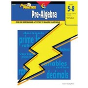Creative Teaching Press Power Practice Pre-Algebra Book, Grades 5th -8th