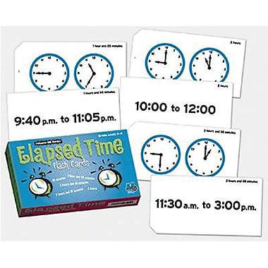 Learning Advantage Elapsed Time Flash Card