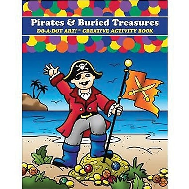 Do-A-Dot Art Pirates and Buried Treasures Creative Activity Book