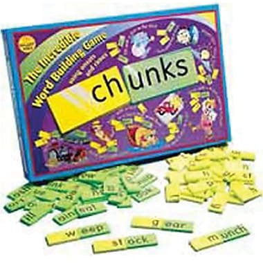 Didax® Chunks Word Building Game, Grades 1st - 4th
