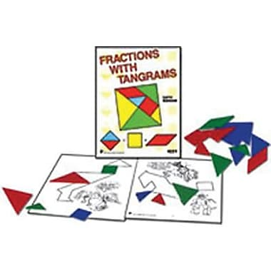Didax Unifix® Fractions With Tangrams Resource Book, Grade 2 -4 (DD-24221)