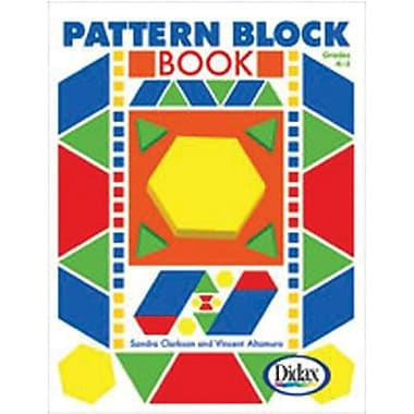 Didax Pattern Block Book, Kindergarten -3 (DD-25294)