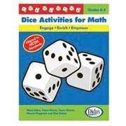 Didax® Dice Activities Resource Book For Math, Grades Kindergarten - 3rd