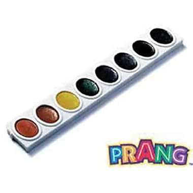 Prang Non-toxic Watercolors Oval Pan Refill Tray, 8/Pack (DIX08200)