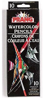 Dixon Ticonderoga® Prang® Watercolor Pencil With Brush, Assorted