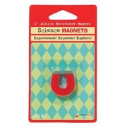 """Dowling Magnets Alnico Horseshoe Magnet, 1"""", 4/Pack (DO-731014)"""