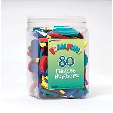 Dowling Magnets Foam Fun Magnet, Numbers (DO-732101)