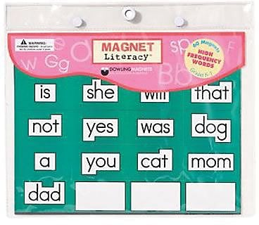 High Frequency Word Magnets, Grades K-1