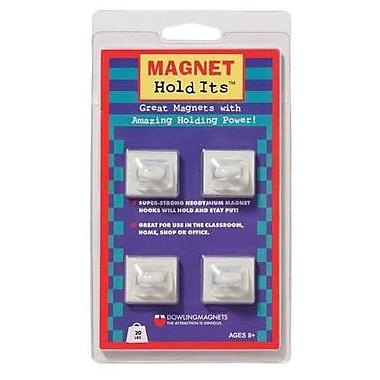 Dowling Magnets - Crochets de plafond magnétique, 1 x 7/8 po
