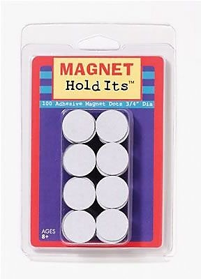 Dowling Magnets® Adhesive Dots Magnet, 3/4