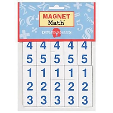 Dowling Magnets Numerals Magnet, 500/Pack (DO-MA13)
