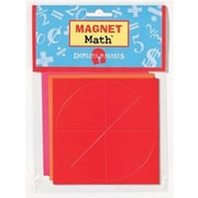 """Dowling Magnets® Fraction Circles Magnet, 4"""" x 4"""""""