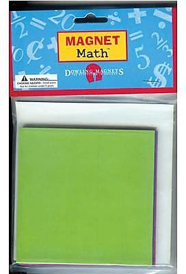 Magnet Fraction Squares, Set of 9