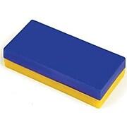 """Dowling Magnets® Plastic Encased Block Magnet, 2"""", 12/ST, 2 ST/BD"""