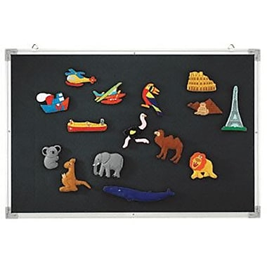 Educational Insights® 3-in-1 Flannel/Magnetic/Wipe-Off Board