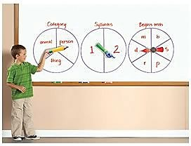 SpinZone™ Magnetic Whiteboard Spinners