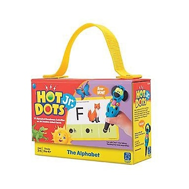 Educational Insights Hot Dots Jr. Card Set, The Alphabet (2351)