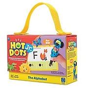 Hot Dots Jr. Card Set, The Alphabet (2351)