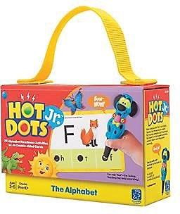 Educational Insights® Hot Dots® Jr. Card Set, The Alphabet