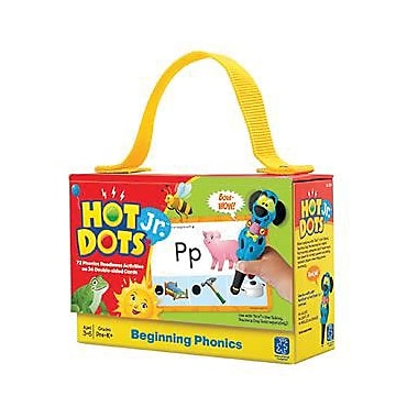 Educational Insights Hot Dots Jr. Card Set, Beginning Phonics (2352)
