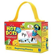Hot Dots Jr. Card Set, Beginning Phonics (2352)