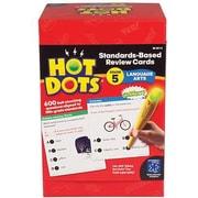 Educational Insights® Hot Dots® Standards-Based Language Arts Card, Grades 5th