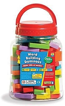 Educational Insights® Word-Building Dominoes, Grades 1st -4th