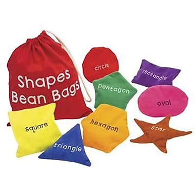 Educational Insights Classic Game, Shapes Bean Bags, 9/Pack (3048)