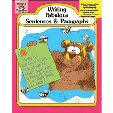Evan-Moor® Writing Fabulous Sentences and Paragraphs Book, Grades 4th - 6th