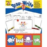 Evan-Moor® Draw Then Write Resource Book, Grades 1st - 3rd