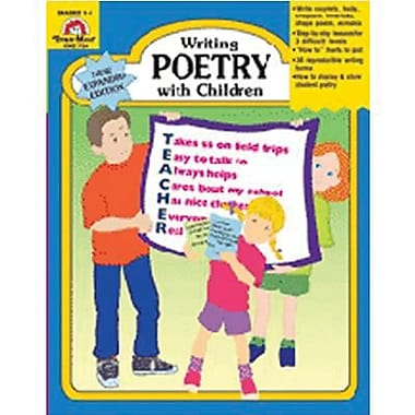 Evan-Moor® Writing Poetry With Children, Grades 1st -6th