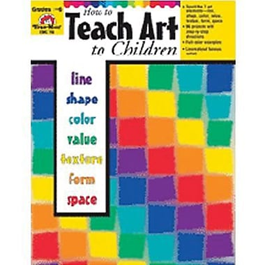 Evan-Moor® How to Teach Art to Children Book, Grade 1 - 6 (EMC760)