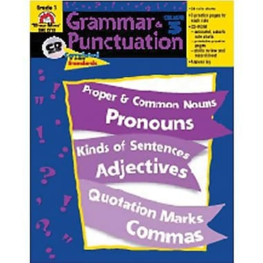 Evan-Moor® Grammar and Punctuation Teacher Resource Book, Grades 3rd