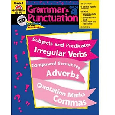 Evan-Moor® Grammar and Punctuation Teacher Resource Book, Grades 4th