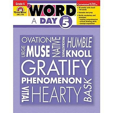 Evan-Moor® A Word A Day Teacher's Edition Book, Grades 5th