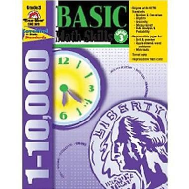 Evan-Moor® Basic Math Skills Book, Grades 3rd