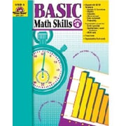 Basic Math Skills Book, Grades 4