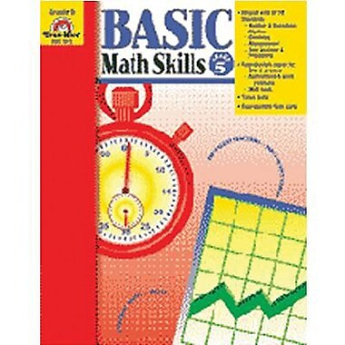 Evan-Moor Basic Math Skills Book