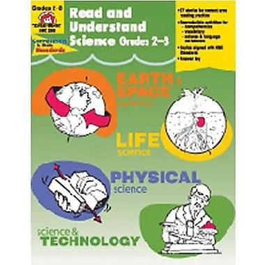 Evan-Moor – Livre de sciences « Read And Understand Science », 2e à 3e année primaire (EMC3303)