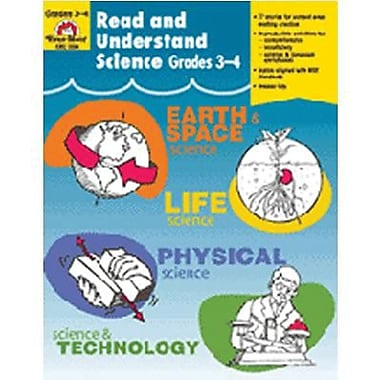 Evan-Moor® Read and Understand Science Book, Grade 3 - 4 (EMC3304)