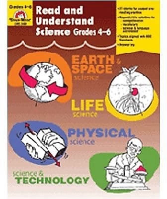 Read and Understand Science, Grades 4-6 872942