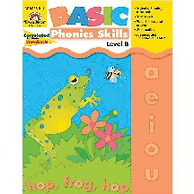 Evan-moor® Basic Phonics Skills Book, Level B