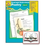 Evan-Moor® Read and Understand Poetry, Grades 5th - 6th
